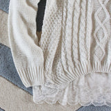 Iced Lace Sweater: Alternate View #3