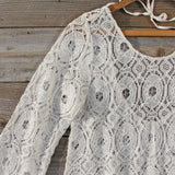 Iced Meadow Lace Tunic: Alternate View #2
