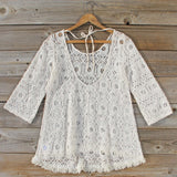 Iced Meadow Lace Tunic: Alternate View #4