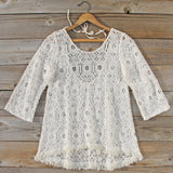 Iced Meadow Lace Tunic: Alternate View #1