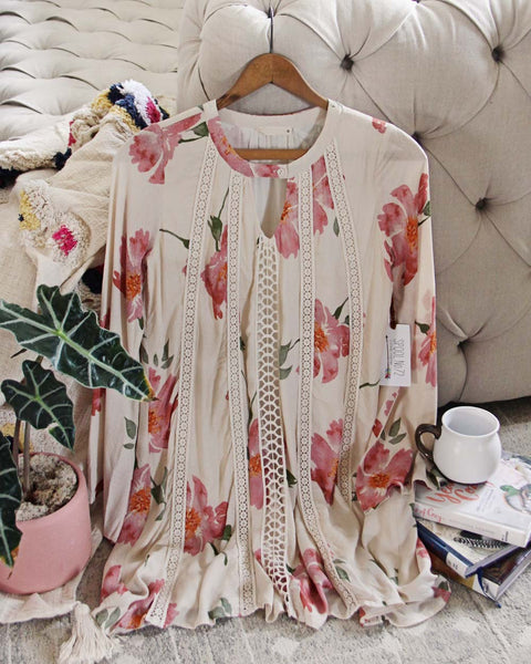 Icy Rose Tunic: Featured Product Image
