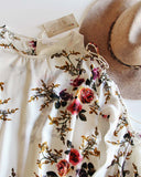 Indian Rose Top in White: Alternate View #3