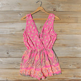 Indian Sunset Romper: Alternate View #1