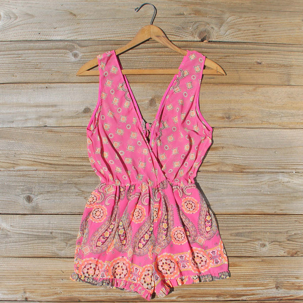 Indian Sunset Romper: Featured Product Image