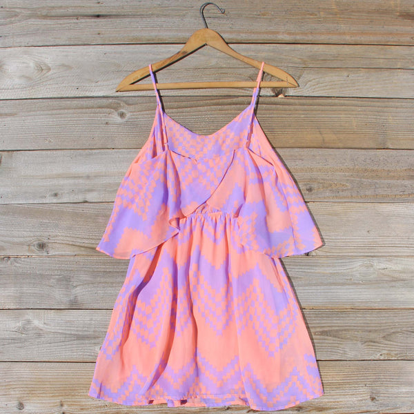 Indian Watercolor Dress in Lilac: Featured Product Image
