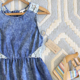 Indigo & Lace Dress: Alternate View #2