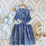 Indigo & Lace Dress: Alternate View #4