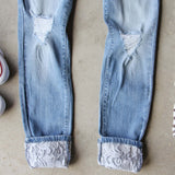 Lace & Indigo Jeans: Alternate View #3