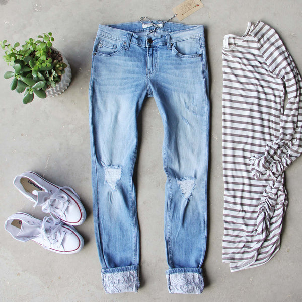 Lace & Indigo Jeans: Featured Product Image