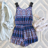 Indigo Tales Romper: Alternate View #1