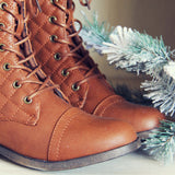 Jack Pine Sweater Boots in Cognac: Alternate View #2