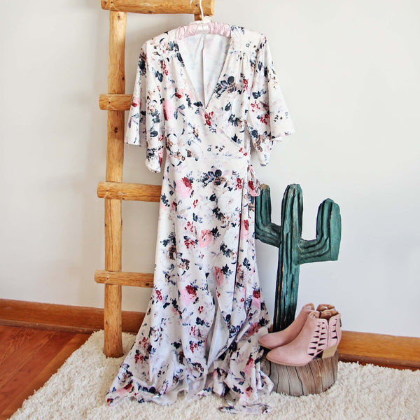 Jardine Wrap Maxi Dress: Featured Product Image