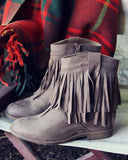 Jasper Fringe Boots: Alternate View #1