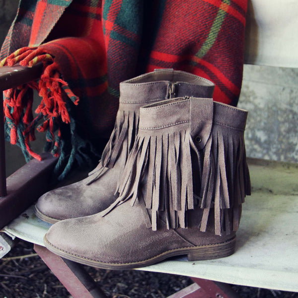 Jasper Fringe Boots: Featured Product Image