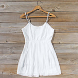 Jewel Tide Dress in White: Alternate View #4