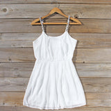 Jewel Tide Dress in White: Alternate View #1
