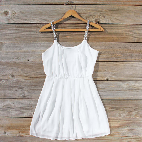 Jewel Tide Dress in White: Featured Product Image