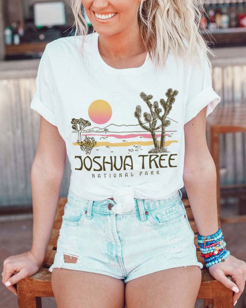 Joshua National Park Tee: Featured Product Image