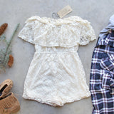 Juniper Lace Romper: Alternate View #3