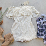 Juniper Lace Romper: Alternate View #1