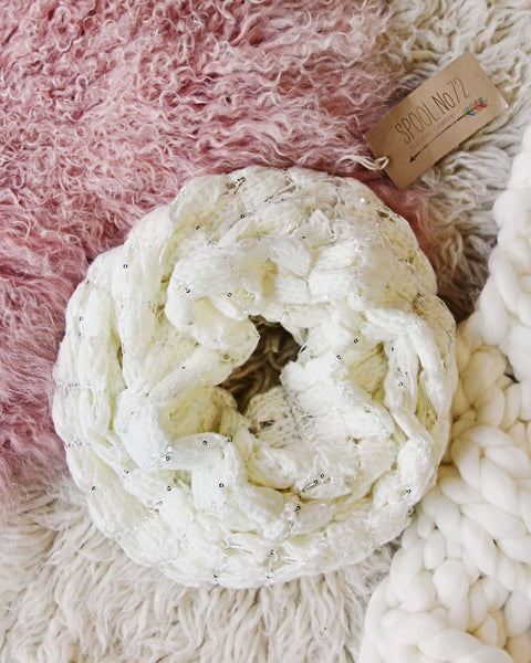 Juniper Snow Scarf: Featured Product Image