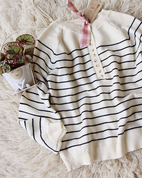 Juniper Stripe Sweater: Featured Product Image
