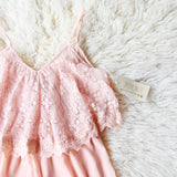 Just Peachy Lace Romper: Alternate View #2