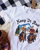 Keep It Rad Tee: Alternate View #2