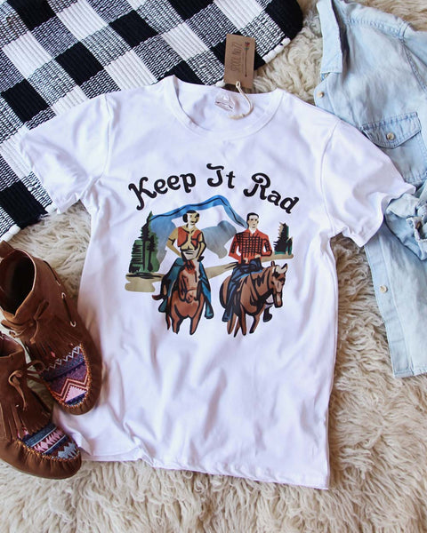 Keep It Rad Tee: Featured Product Image