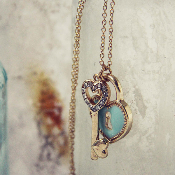 Key to My Heart Necklace: Featured Product Image
