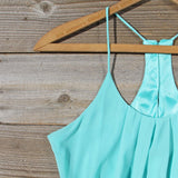 Kindred Spirits Romper in Mint: Alternate View #2