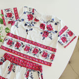 Kiss & Sun Romper Set (wholesale): Alternate View #2