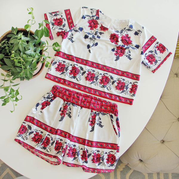 Kiss & Sun Romper Set: Featured Product Image