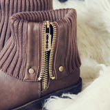 Knit & Cuff Boots: Alternate View #2
