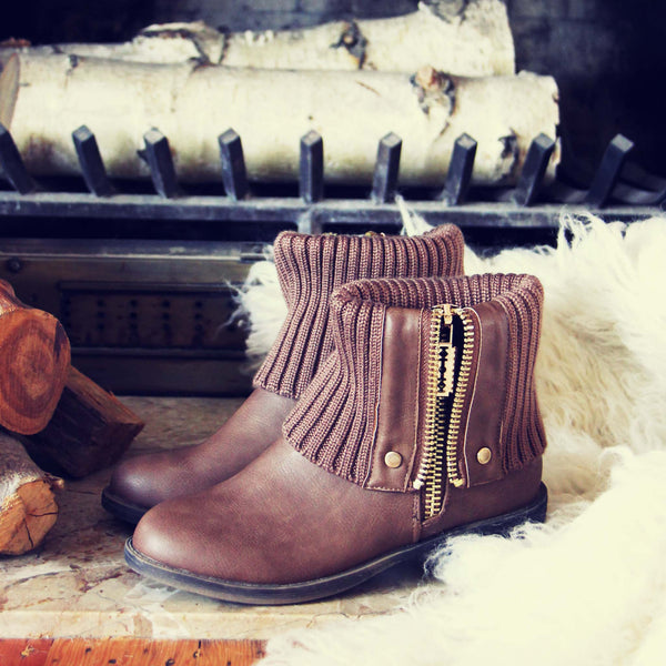 Knit & Cuff Boots: Featured Product Image