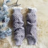 Knit & Lace Boot Socks: Alternate View #2