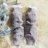 Knit & Lace Boot Socks: Alternate View #1