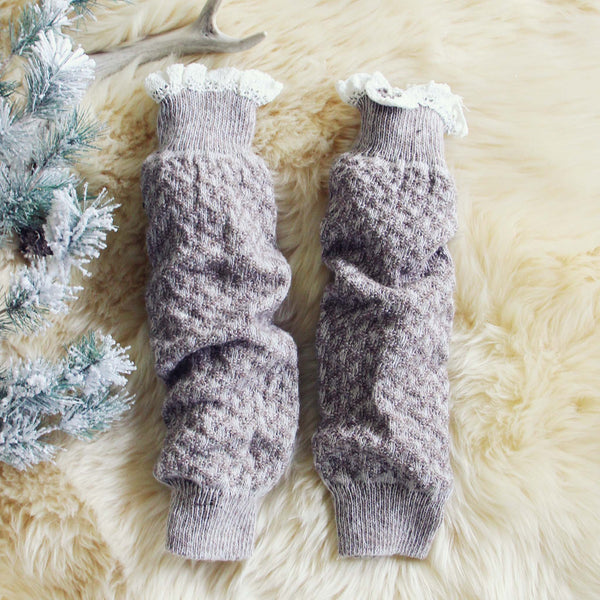 Knit & Lace Boot Socks: Featured Product Image