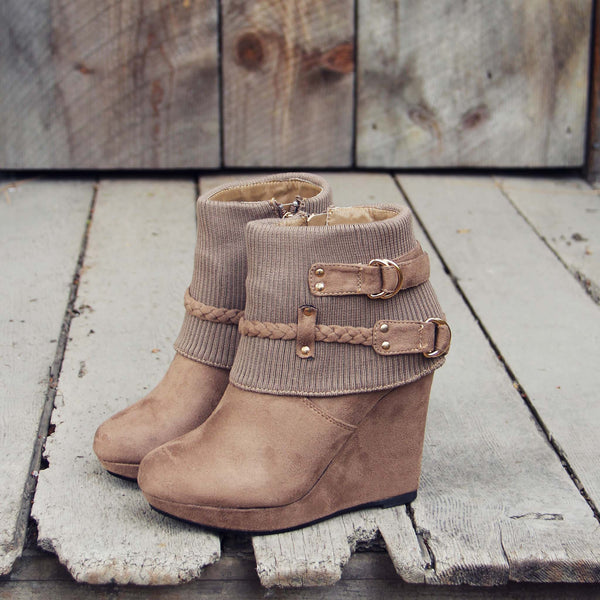 The Knit & Sock Booties: Featured Product Image