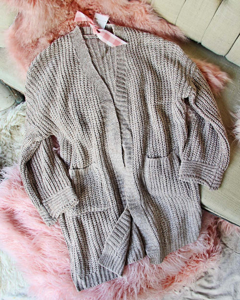 Knit House Coat: Featured Product Image