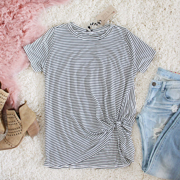 Knot & Stripe Tee: Featured Product Image