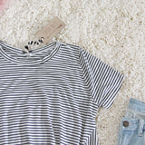 Knot & Stripe Tee: Alternate View #3