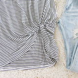 Knot & Stripe Tee: Alternate View #4