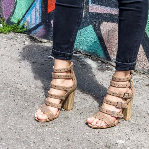 Knox Strappy Heel: Featured Product Image
