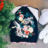La Fleur Velvet Bomber Jacket: Alternate View #4