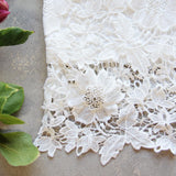 La Lune Lace Top in White (wholesale): Alternate View #3