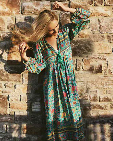 La Lune Maxi Dress: Featured Product Image