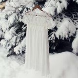 Le Neige Dress: Alternate View #3