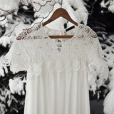 Le Neige Dress: Alternate View #1