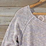 Lace Bark Sweater: Alternate View #2